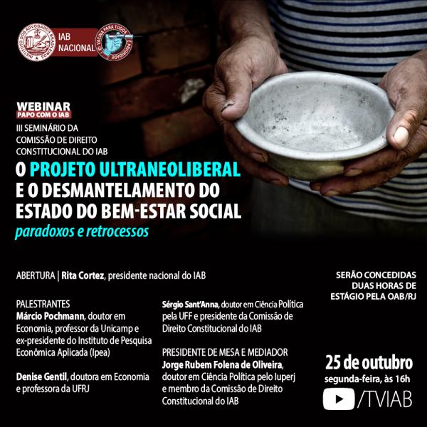 O projeto ultraneoliberal